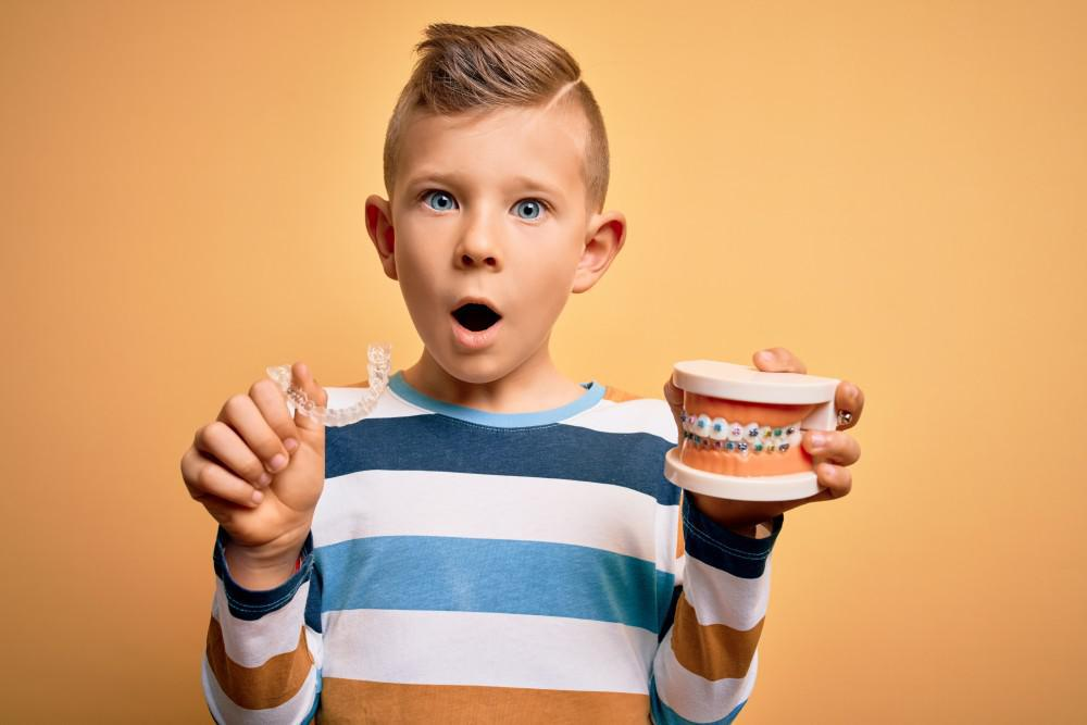 Etapas de la ortodoncia en los niños